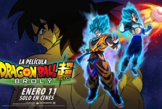 Dragon Ball Super: Broly, se estrena el 11 de enero en cines
