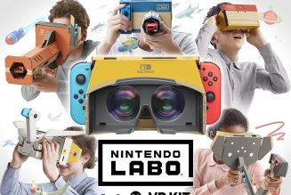 La realidad virtual llega a Switch con Nintendo Labo