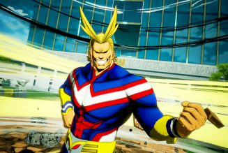 All Might llega a Jump Force