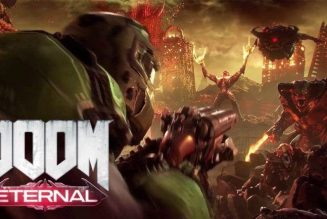 Mira el Box Art de DOOM Eternal para Nintendo Switch