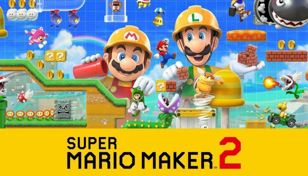 Usuario de Super Mario Maker 2 recrea el nivel 1-1 de Super Mario Bros… ¡pero en vertical!