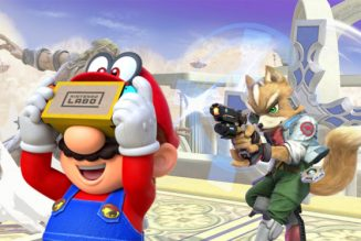 Ya puedes usar la realidad virtual en Super Smash Bros. Ultimate