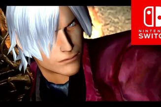 Dante de Devil May Cry llega a Nintendo Switch