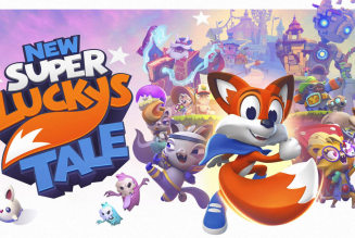 Con cariño de Xbox para Nintendo Switch… New Super Lucky´s Tale