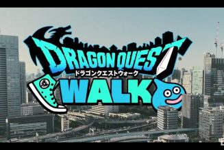 Camina con Dragon Quest.