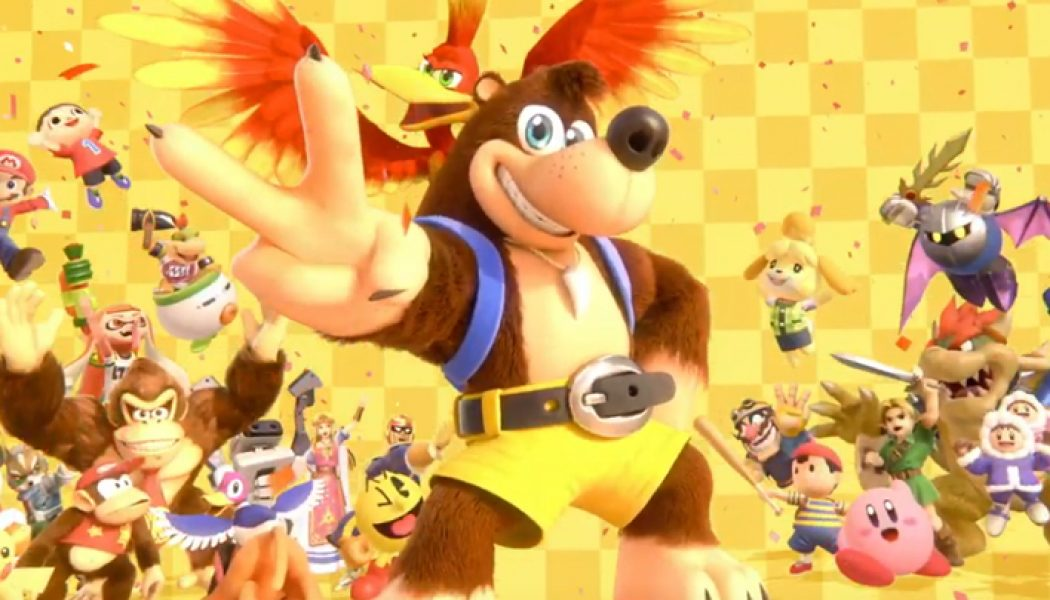 Smash Bros. Ultimate x Banjo-Kazooie y Dragon Quest