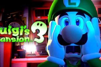 Tendremos Luigi's Mansion para Halloween