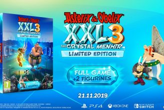 Asterix & Obelix XXL 3 The Crystal Menhir tendrá dos ediciones especiales