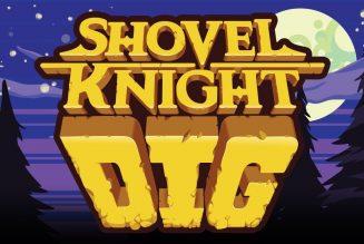 ¡Revelan nuevo título de Shovel Knight: Dig!
