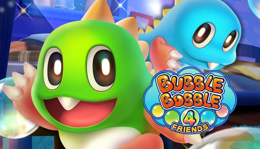 Bub y Bob están de regreso con Bubble Bobble 4 Friends