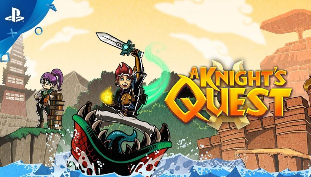 A Knight's Quest confirma su llegada a PC, Xbox One, Nintendo Switch y PS4