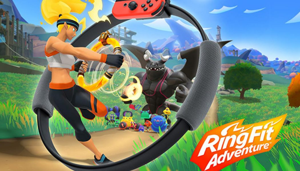 Nintendo revela Ring Fit Adventure