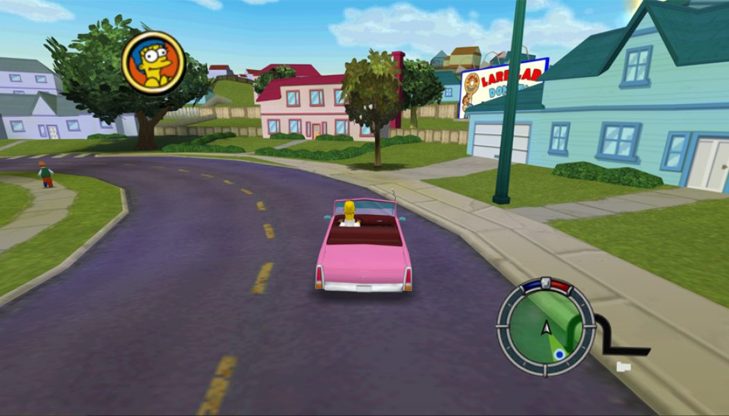«The Simpsons Hit & Run» podría tener un remake