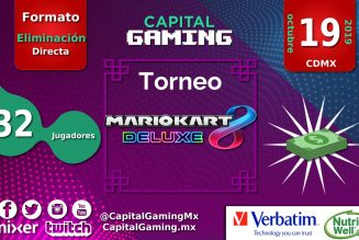 ¡Torneo de #MarioKartDeluxe en Capital Gaming!