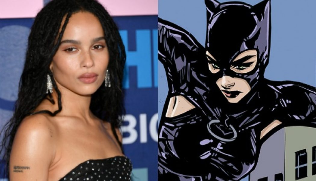 Zoe Kravitz será Catwoman en The Batman
