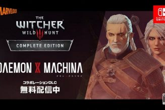 The Witcher aparece en el nuevo DLC de Daemon X Machina