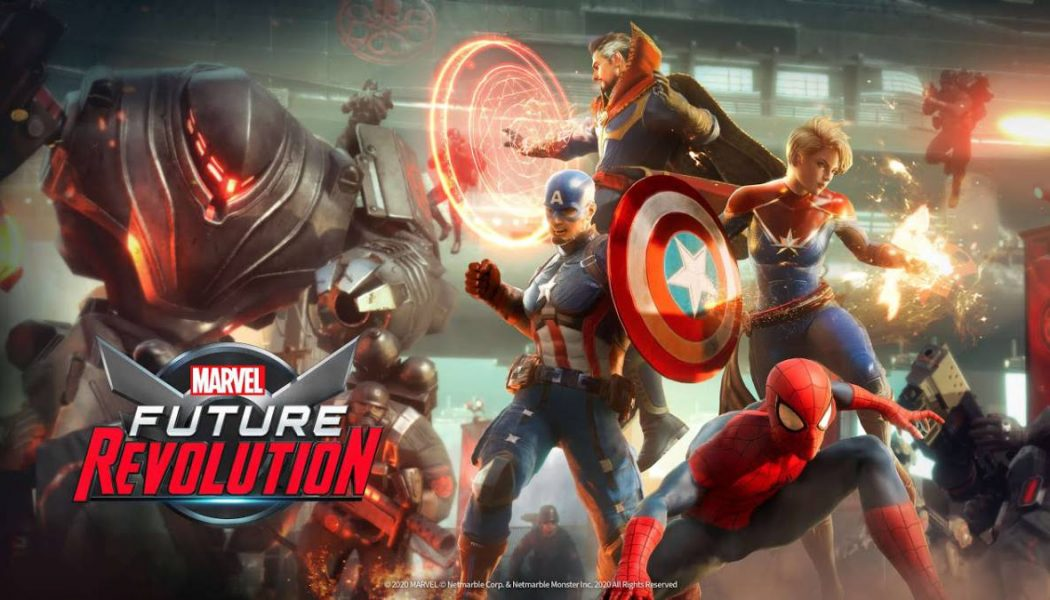 VIDEO | Tráiler de Marvel Future Revolution
