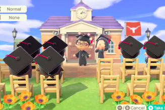 Celebraron una graduación en Animal Crossing: New Horizons
