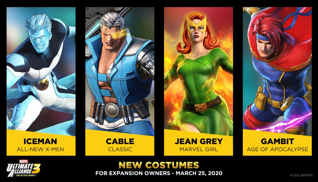 Nuevos trajes en Marvel Ultimate Alliance 3: The Black Order