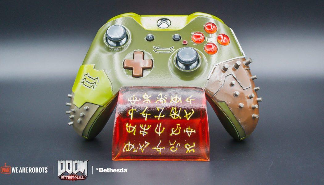 Bethesda está regalando un control de Xbox edición especial de DOOM