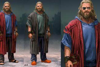 Checa los primeros diseños de «Fat Thor» para Avengers: Endgame