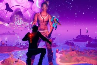 VIDEO | Ve el increíble concierto de Travis Scott en Fortnite