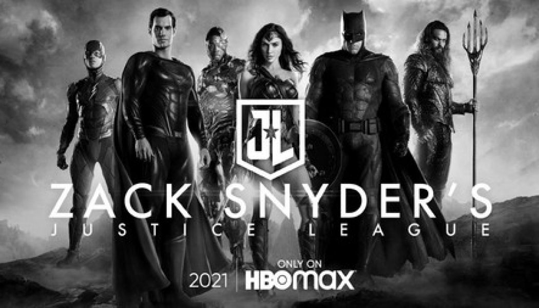 OFICIAL | Justice League Snyder Cut llegará a HBO MAX