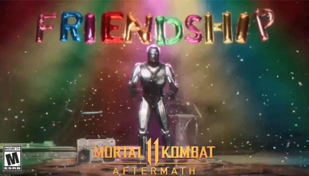 VIDEO | Checa la Friendship de RobCop en Aftermath