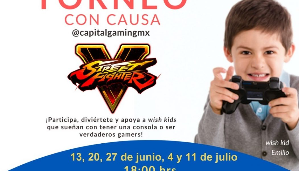 ¡Capital Gaming se une con Make A Wish para un torneo benéfico!