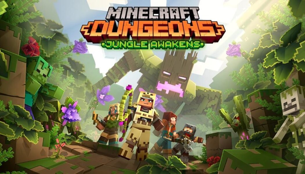 ¡Ya está disponible Jungle Awakens en Minecraft Dungeons!