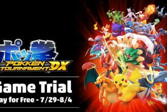 Pokkén Tournament DX estará de forma gratuita en Nintendo Switch
